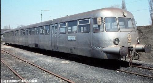 Il VT40.901 a Bamberg nel 1980, probabilmnete in viaggio verso la sua destinazione italiana. Foto © Helmuth Heiderich