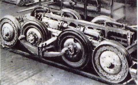Carrello Dunlop-Fouga