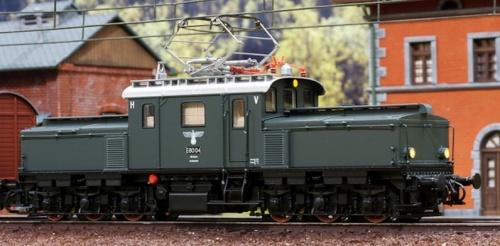 Modello Märklin della E 80. Foto da www.marklinfan.com
