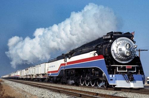 La 4449 al traino del Freedom Train. © Jim Bortolotta da railpictures.net