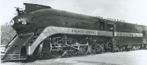 La 462 di Frisco per il Firefly Foto: Archivi BNSF