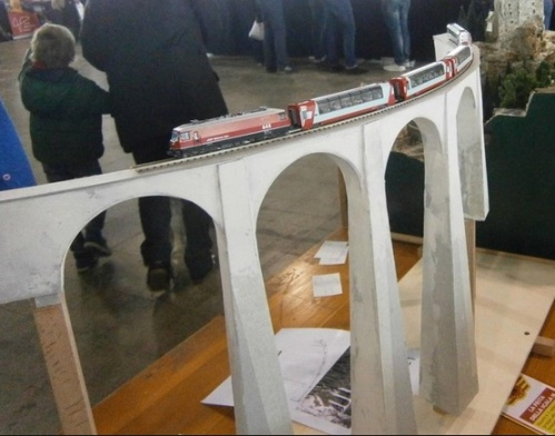 Il ponte realizzato da Stefano Dalli a Verona 2014