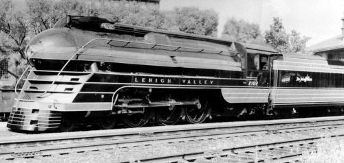 Lehigh Valley K5 Streamlined Pacific 2102