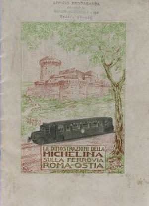Il libro sulla Michelina in Italia