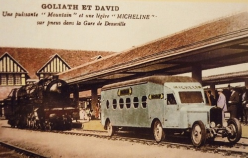 Una Micheline Type 5 nel 1931, immagine da monvillage.blog50.com