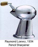 Temperamatite aerodinamico di Raymond Loewy