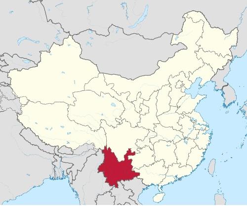 Lo Yunnnan, immagine derivata da wikimedia