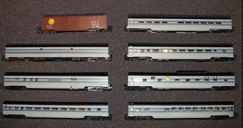 Con-Cor #0001-041003 New York Central 20th Century Limited Passenger Set#1 NYC