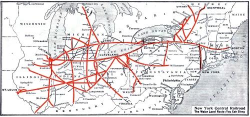 Mappa della rete di NYC nel 1926, da wikipedia.