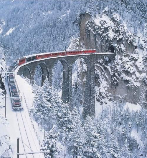 Ancora una bella immagine con la neve - foto da www.dnv-tours.de
