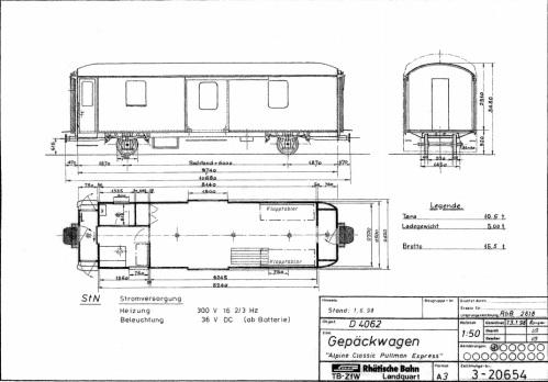 schema della bagagliaio RhB D 4062, da www.verein-pro-salonwagen.ch