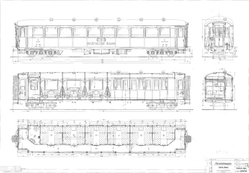 schema della carrozza RhB 1154, da www.verein-pro-salonwagen.ch
