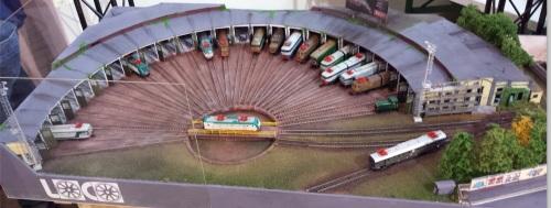 La produzione Colli (con un piccolo intruso) nel deposito locomotive