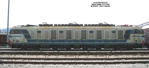 La E.844, esercizio di photoshop apparso su forum.duegieditrice.it