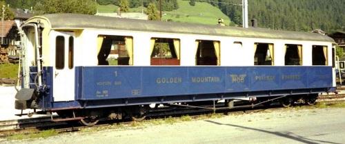 Ars 101 nel 1980. Foto Jürg Ehrbar da http://www.x-rail.ch/MOB/Personenwagen/Erstklasswagen/Ars-101.htm