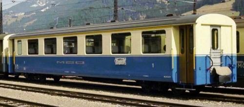 A 105, analoga alle carrozze usate come base per ottenere le vetture pseudostoriche. Foto Jürg Ehrbar da http://www.x-rail.ch/