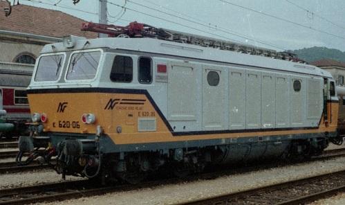E.620.06 nel 1988. Foto © Alessandro Albé da flickr