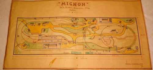 Piano del plastico di martin Steiger - da www.mignonbahn.de