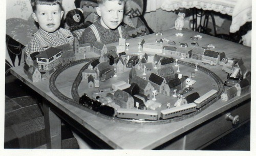 Dicembre 1959 - Gerhard e Hans, di Schwarzwald - da www.mignonbahn.de
