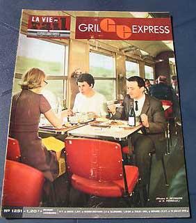 Copertina del Vie du Rail n. 1251 dl 1970