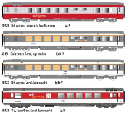 Le livree delle VRU GE nei disegni di LS Models