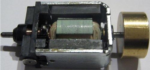 Motore del BR 601 con volano