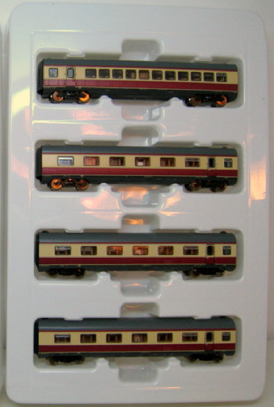 Set di carrozze aggiuntive per il BR602