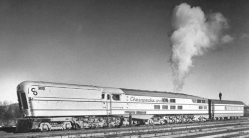 Se a qualcuno venisse il dubbio che non fosse una locomotiva... ecco il vapore! Foto da wiible.tumblr.com
