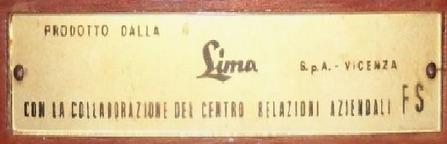 Targa Lima sul retro della confezione