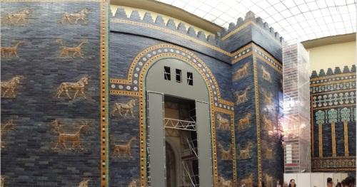 La Porta di Ishtar nel Pergamon Museum