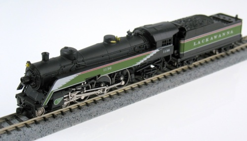 Lackawanna 1136 di Model Power. Foto da www.needtrains.com