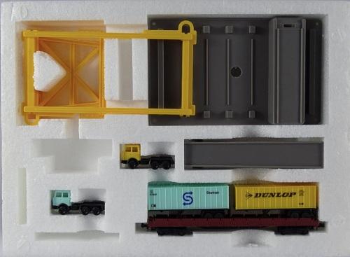 Confezione 620707, scalo intermodale per containers