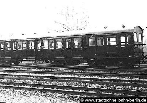 Versuchszug A - Foto © http://www.stadtschnellbahn-berlin.de