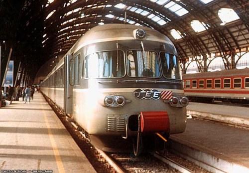 Il RABe a Milano Centrale, Foto © SIlvio Assi da railfaneurope.net