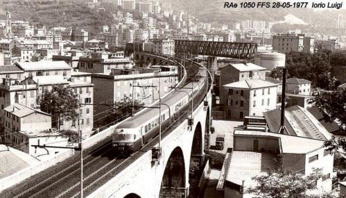 Il Gottardo a Genova - foto Luigi Iorio © da IlPortaleDeiTreni