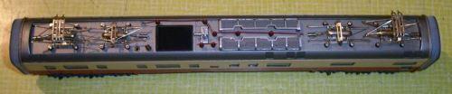 Imperiale del modello Märklin della carrozza motrice - foto dal forum hag-info.ch