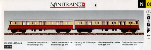 Pag. 11 del Catalogo Rivarossi Minitrain del 1994