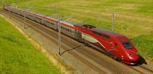 Il quadricorrente Thalys TGV PBKA - FOto © Franky De Witt da flickr