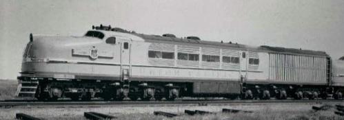 La UP1 sperimentale. Sembra un diesel, ma é una locomotiva a carbone!