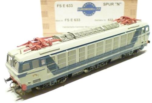 Altra vista delle E.633 di Euromodell FP