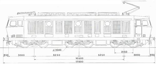 Schema della E.633