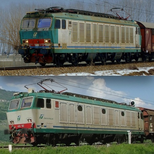 Le due versioni di XMPR, immagini © Daniele Donadelli