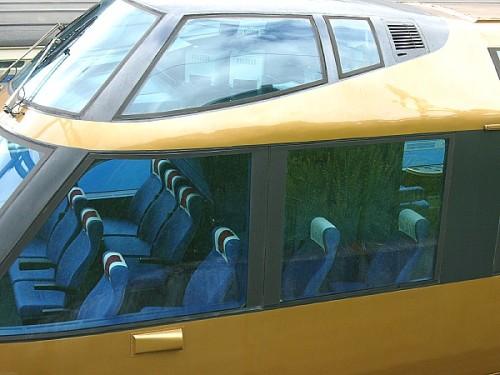 """Il posto di guida rialzato e i posti passeggeri """"VIP"""" sulla Foto © 2005 C. Ozdoba da http://www.ozdoba.net/"""