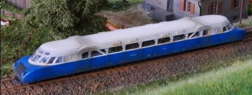 VT63 in H0 di Austro Modell, foto dal sito del produttore