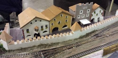 Portici e mura di Glorenza