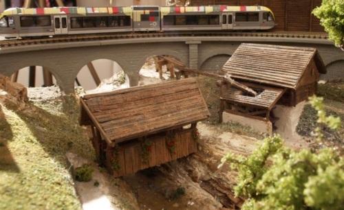Ponte coperto e mulino. Foto Dalli