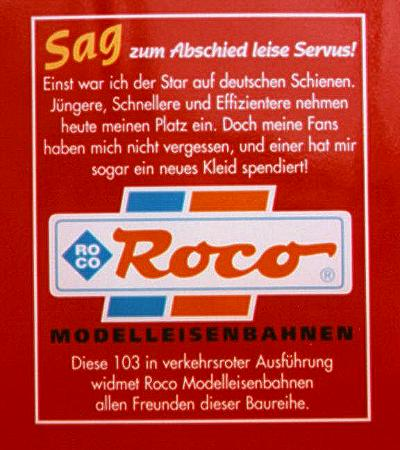 L'adesivo celebrativo ROCO - Foto © Patrick Frank