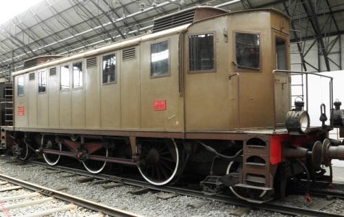 La E.321 conservata al Museo della Scienza e della Tecnica di Milano. Foto Cretaive Commons di Friedrichstrasse, da mediawiki