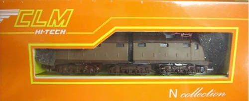 Confezione della E.636 CLM in scala N