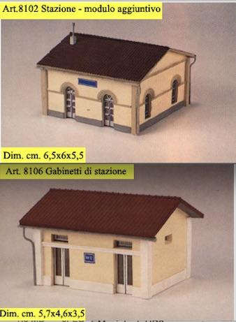 Edifici ausiliari di stazione CLM